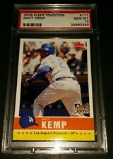 2006 Fleer Tradition #111- Matt Kemp Rookie Card! PSA GEM MINT 10!