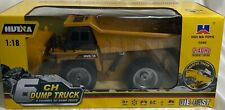 RC 6 Ch 2.4G Remote Control Dump Truck 4WD Mine Construction Vehicle Toy