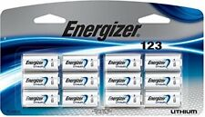 12 NEW Energizer CR123A Lithium 3V Battery for EL123 SF123 DL123 12/2026
