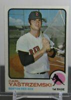 1973 Topps Carl Yastrzemski Boston Red Sox