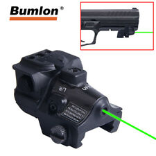 Green Dot Laser Sight Fit Adjustable Goggle Laser Gun For Glock Pistol Shotgun
