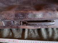"alter Koffer ""Echt Vulkanfibre"" Reisekoffer Überseekoffer VEB DDR Vintage Shabby"