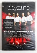 Boyzone: Back Again No Matter What: Live 2008 DVD (2 DVD) SIGILLATO SEALED
