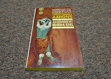 EDWARDS AARONS 5 vintage books  1st Ed 1960's  mystery  SAM DURELL, ASSIGNMENT