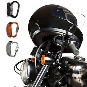 Motorrad Helmschloss Tough Kombination PIN Verriegelung Karabiner Fahrrad
