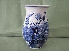 Schöne große Meissen Vase mit Asia-Dekor, Blaumalerei