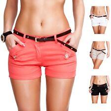 Damen-Cargo-Shorts aus Baumwollmischung