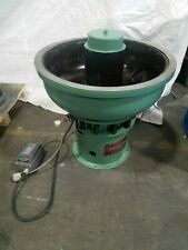 Boulton 3 cubic foot Vibratory Finishing Machine Polish Deburr Metal