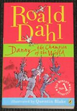 Children's Book 'DANNY THE CHAMPION OF THE WORLD' Roald Dahl (Paperback 2007)NEW