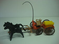 Carreta Campesino Playmobil 3587 Carruaje Carro Oeste Western Antiguo Carromato