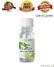 ORIFLAME Love Nature Purifying Face Oil with Organic Tea Tree & Lime 10ml NEW*