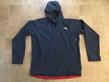 The NorthFace Men's 2X XXL Summit Series Blue Hooded Soft Shell Coat Polartec