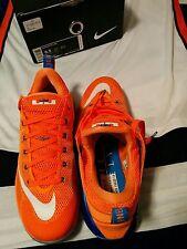 Nike Lebron 12 XII Low Bright Citrus & Adidas New York Knicks Basketball Jersey