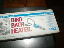 Nelson 30204 Bird Bath Water Heater and De-Icer Used Winter