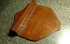 Knife Holder Wall Display Wooden Plaque Vintage Handmade Antique Primitive