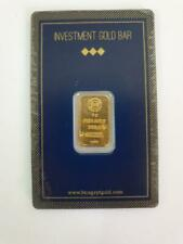 5 Gram Mint 999.9 Gold Bar Sealed with Assay Card 24 Karat Egypt BTC