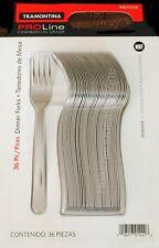 36 Tramontina ProLine Windsor Dinner Fork, Stainless Steel Commercial Grade