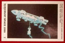 SPACE 1999 - HIT BY FATAL NUCLEAR FLASH - MINT SUNICRUST Card #7 Australia 1975