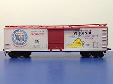"HO Scale ""State Of Virginia"" 10110 Forty Foot Freight Train Box Car"