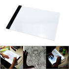 A4 LED Art Stencil Board Light Box Tracing Drawing Table Adjustable Base Pad USA