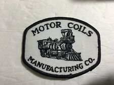 Motor Coils Manufacturing Co. Patch