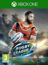 Rugby League Live 4 [Xbox One XB1, Region Free, Sports, Action] NEW