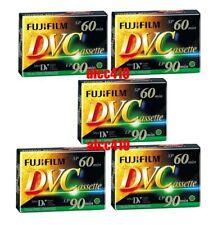 5x Fujifilm Fuji DV60 Mini DV Tape Cassette DVM60AME Brand New Made in Japan