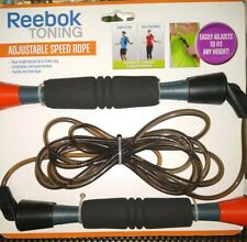 REEBOK to ing speed/Jump Rope Adjustable new in packaging.