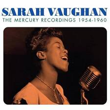 SARAH VAUGHAN - THE MERCURY RECORDINGS - 1954-1960 (NEW SEALED 3CD)
