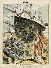 AMERICAS CUP YACHT RACE 1887 PUBLIC AGAINST CORRUPT NY REPUBLICANS GREEK THEATRE