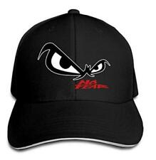 Unisex No Fear Owl's Eyes Sandwich Baseball Cap Black