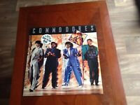 """COMMODORES Promo LP """"United"""" 1986 Polydor records new unplayed"""