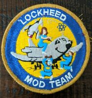 Vintage Lockheed Mod Team Patch