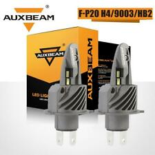 AUXBEAM H4 9003 50W LED Headlight Bulb Kit High Low Beam 6500K Super Bright HB2