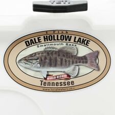 Dale Hollow Lake sticker Smallmouth Bass WR Fishing Decal GUARANTEED 3 years