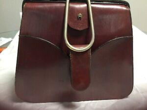 Vintage  rare Aigner    Etienne purse hand made leather ,satchel  handbag unique
