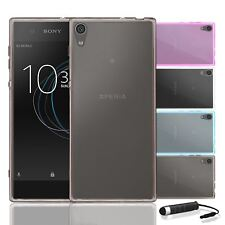 32nd Clear Gel Series - Transparent TPU Silicone Case Cover For Sony Xperia XA1
