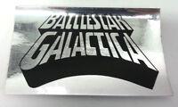 """Vintage Battlestar Galactica  Mylar Bumper Sticker (6.25"""")  Warehouse Find!"""