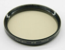 Samigon - 49mm 81B Lens Filter - Fair Glass - Used - W649