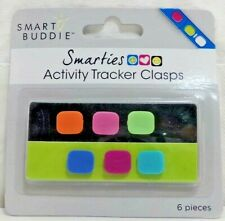 Smart Buddie Activity Tracker Clasps for Fitbit Flex or Samsung Gear Fit 6ct