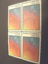 US Postage Stamp 1983 Science and Industry Scott 2031  4 - 20c