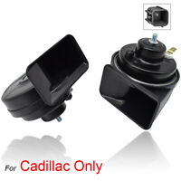XUKEY Snail Horn High Low Pitch Loud For Cadillac ATS CTS XTS Escalade 410/510Hz