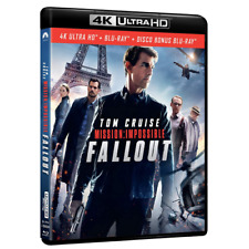 Mission Impossible - Fallout (blu-ray 4k Ultra HD Blu-ray) Paramount