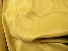 Gold curtain fabric 121 inches 308 cms  wide, pelmet, blinds,arts, crafts, bed