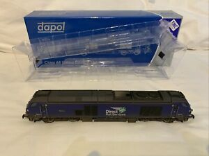 """DAPOL 4D-022-015 - CLASS 68 Renamed And Renumbered 68019 """"Brutus"""" TMC Weathered"""
