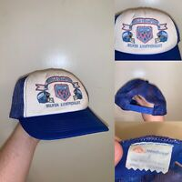 Vintage New York Giants Super Bowl Hat One Size Fits All Blue AJR Anniversary