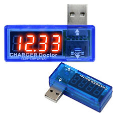 USB Charger Battery Doctor Mobile Power Detector Tester Voltage Current Meter