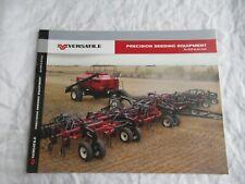 Versatile Precision Seeding Equipment Air And Drill Cart Brochure