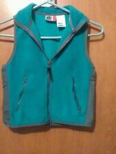 Arizona Jeans teal fleece vest. Size 6-6x