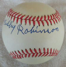 William Bobby Robinson PSA/DNA OALB Negro Leagues Autograph Baseball Auto
